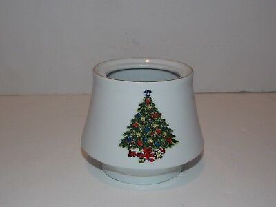 Sea Gull Fine China Christmas Tree Jian Shiang Sugar Bowl without Lid