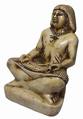 ANCIENT ANTIQUE Egyptian EGYPTIAN glazed stone statue of Khnum (300-1500 BC