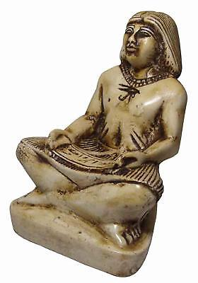 Pharaoh Royal Scribe Figurine Statue ANCIENT EGYPT ANTIQUE Egyptian