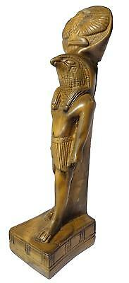 King Horus Statue Pharaoh Figurine  ANCIENT EGYPT ANTIQUE Egyptian