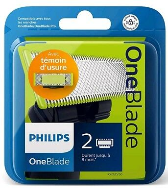 Philips norelco oneblade 2Pac replacement blade $40 retail you pay$30 free shipp