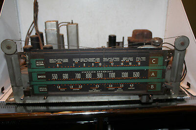 VINTAGE RCA VICTOR Console Radio Chassis Model K80 RC-415D 9K10 Rare