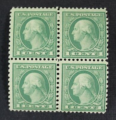 CKStamps: US Stamps Collection Scott#538 1c Block Mint NH OG