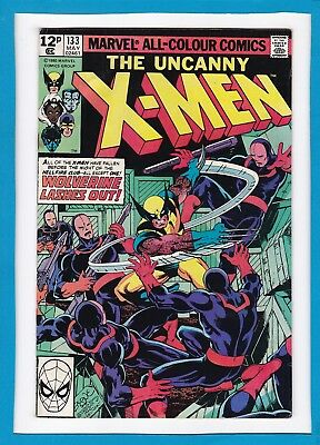 "Uncanny X-Men #133_May 1980_Good/very Good_""wolverine Lashes Out""_John Byrne_Uk!"
