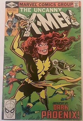 Uncanny X-Men #135 (1980 Marvel) Dark Phoenix Claremont Byrne NM 9.4