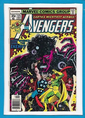 Avengers #175_Sept 1978_Very Fine_Guardians Of The Galaxy_Ms. Marvel_Jocasta!