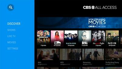 CBS All Access  account (USA VPN REQUIRED )
