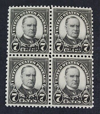 CKStamps: US Stamps Collection Scott#676 7c Block Mint NH OG
