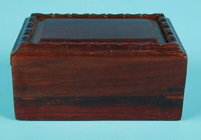 Unique Chinese Wooden Jewelry Box Sealed Gift Collection