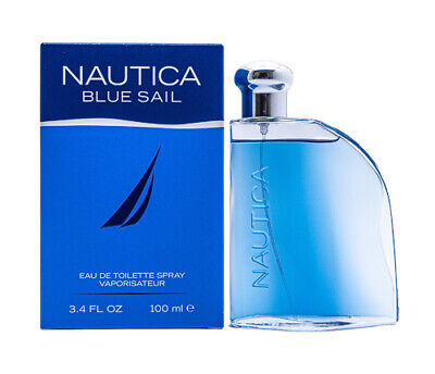 Nautica Blue Sail 3.4 oz EDT Cologne for Men 3.4 oz Brand New In Box