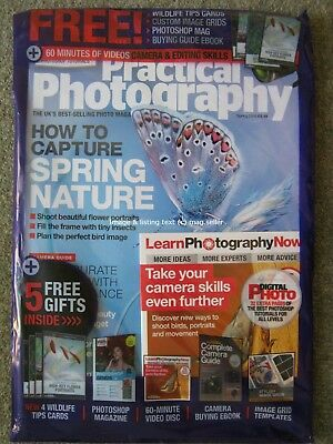Practical Photography Spring 2018 Nature Flowers Insect Camera Guide Book & Disc