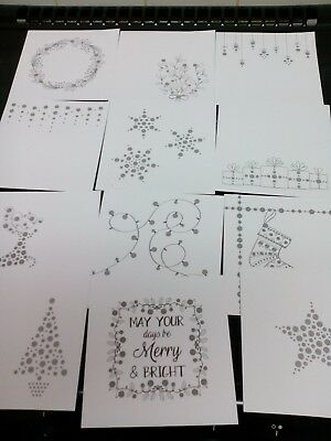 Craft Clear Out Hunkydory Dots To Diamonds Part Pads 24 Sheets Card Making