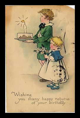 Dr Jim Stamps Us Wishing Many Happy Returns Happy Birthday Topical Postcard