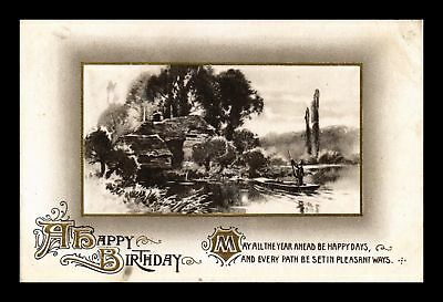 Dr Jim Stamps Us Happy Birthday Embossed Greetings Topical Postcard
