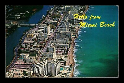 Dr Jim Stamps Us Hello From Miami Beach Florida Chrome View Postcard