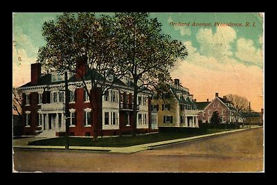 Dr Jim Stamps Us Orchard Avenue Providence Rhode Island View Postcard