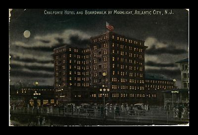 Dr Jim Stamps Us Chalfonte Hotel Boardwalk Atlantic City New Jersey Postcard