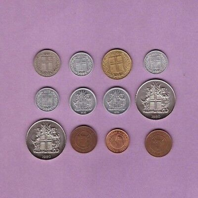 Iceland - Coin Collection Lot - World/Foreign/Europe