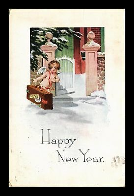 Dr Jim Stamps Us Happy New Year Topical Greetings Postcard