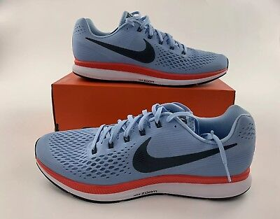 104924963034 NIKE AIR ZOOM PEGASUS 34 Ice Blue Fox Men Running Shoes 880555-404 SIZE 14