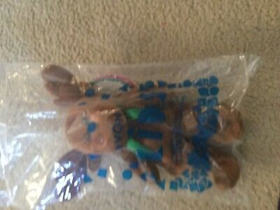 Avon Spruce the Moose Stuffed Animal New in Package Birthstone Full O-Beans