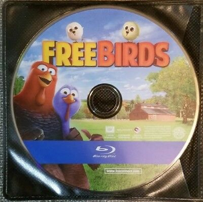 Free Birds Blu Ray Disc Only