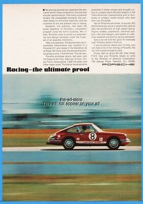 1985 red Porsche 911 convertible photo Armor All Protectant vintage print Ad