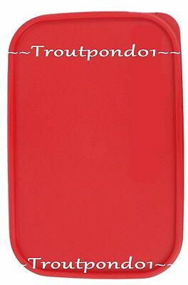 New TUPPERWARE Modular Mates Rectangle Replacement Seal 10.75 in X 7 in Red