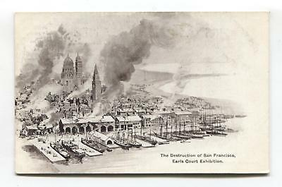 Earls Court Exhibition, London - Destruction of San Francisco, 1906 earthquake