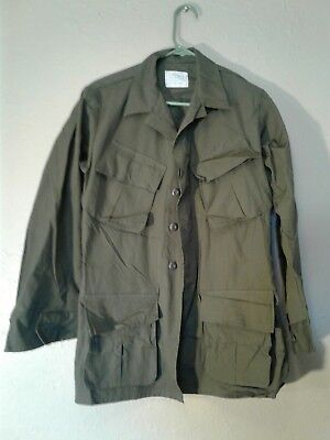 Dead Stock Original Type Rip-Stop Jungle Jacket X-Small New Never Washed