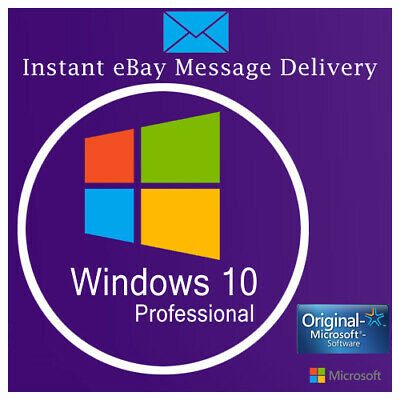 MICROSOFT WINDOWS 10 HOME KEY 32 / 64BIT ACTIVATION  Instant delivery