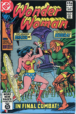 Wonder Woman #278 (Dc 1981) Vf+ First Print Bagged