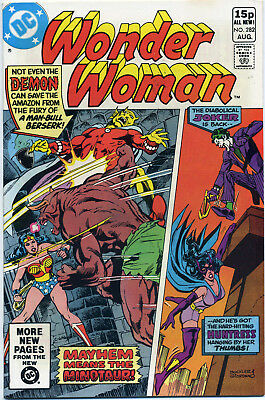 Wonder Woman #282 (Dc 1981) Vf+ First Print Bagged