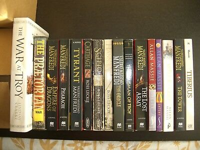 Job lot of 16 x Assorted Historical Fiction Books by Various