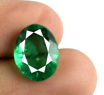 4.15 Ct Muzo Colombian Emerald Collection 100% Natural Oval AGSL Certified E5127