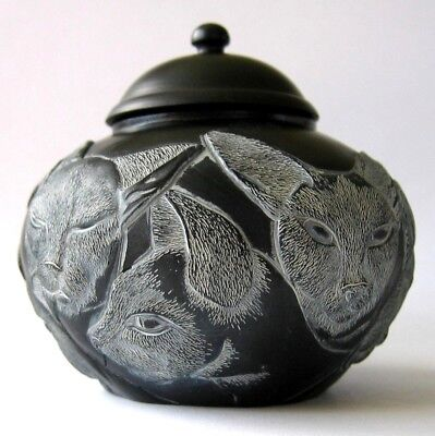 MPS Harmony Kingdom: Jardinia: Small Siamese Cats Trinket Pot - Royal Family NIB