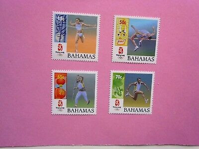 BAHAMAS: 2008 Beijing Olympic Games 4 values  MNH Sg1490/93