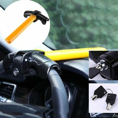 Car Steering Wheel SUV Truck Anti-theft Lock Auto Security Rotary Steering Wheel