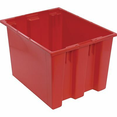 Quantum Stack and Nest Tote Bin-19 1/2in x 15 1/2in x 13in Size RD #SNT 195 R