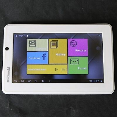 Polaroid PMID705 Android Ice Cream Sandwich Tablet - 4GB and WiFi, White