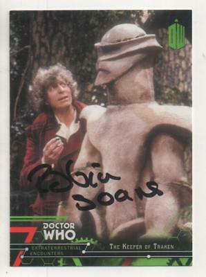 "Dr Who Topps Extraterrestrial Card No.61 Auto by Robin Soans ""Luvic"""