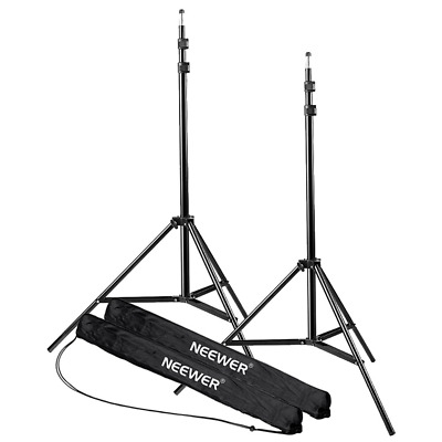 Neewer 7 Feet / 210cm Photography Photo Studio Light Stands Heavy Duty...