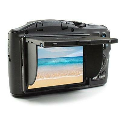 "ENHANCE 3"" DSLR Camera LCD Screen Sun Shade Hood Pop-Up and Foldable..."