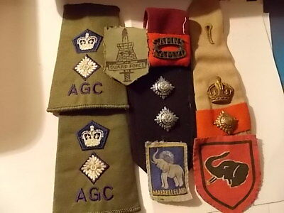 Nice Lot Of Interesting Military Items - Various Periods & Places