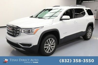 2018 GMC Acadia SLE Texas Direct Auto 2018 SLE Used 2.5L I4 16V Automatic FWD SUV OnStar