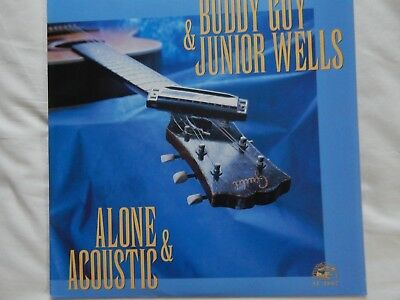 Buddy Guy & Junior Wells - Alone & Acoustic LP Stereo nm