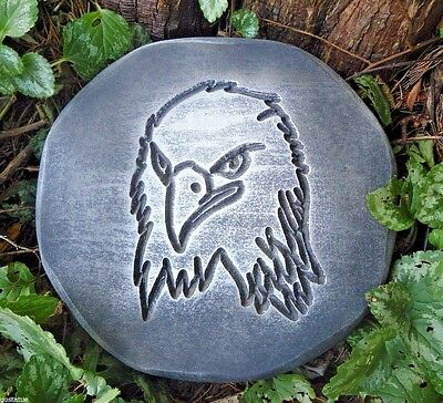 Eagle stepping stone mold plaster concrete bird mould