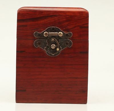 Rare Wood Unique Hand-Carved Box Gift Box Jewelry Box Collection