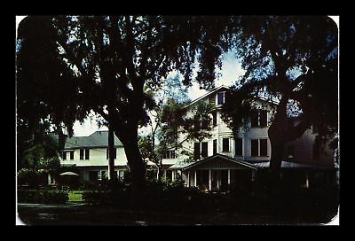 Dr Jim Stamps Us Grey Gull Inn Clearwater Florida Chrome View Postcard