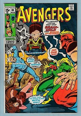 AVENGERS # 86 VFN (8.0) 2nd SQUADRON SUPREME APPEARANCE- GLOSSY HIGH GRADE CENTS
